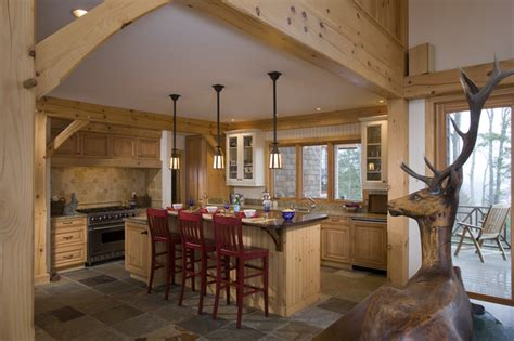 A Frame Kitchen Ideas Timber Frame Kitchen Designs Traditional Kitchen Denver By Woodhouse Post Beam Homes