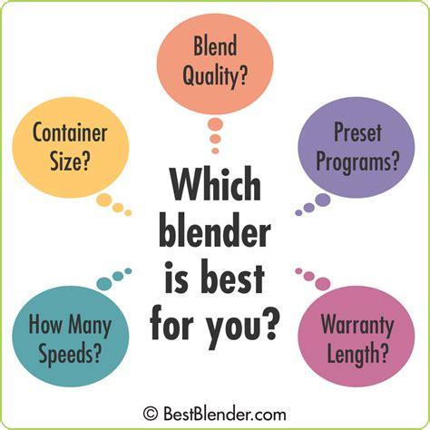 the best blender the blender buying guide ultimate faq bestblender