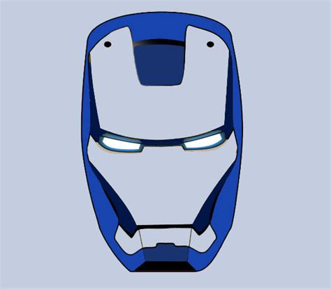 asiths art gallery iron man mask logo