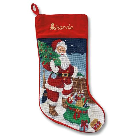 christmas stockings holiday traditions needlepoint stockings a crazy bit of