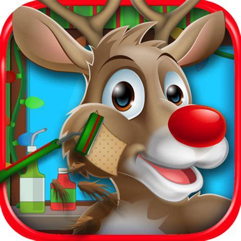 haircut games play online free amazon com christmas shave santa reindeer kids