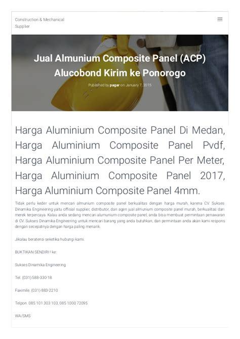 Daftar Wajan Aluminium daftar harga aluminium composite panel 085 105 222 200