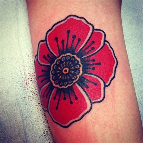 100 s of poppy tattoo design ideas pictures gallery
