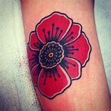 Opium Poppy Flower Tattoo | 500 x 500 jpeg 81kB