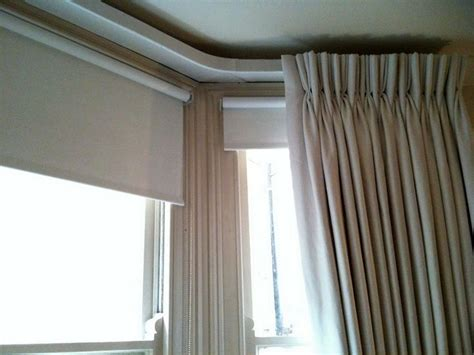 tracks for curtains 17 best images about bay window ideas on pinterest bay
