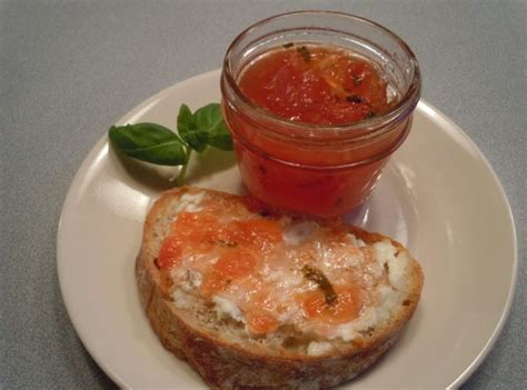 tomato basil jam recipe just a pinch recipes