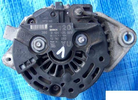 alternator uszkodzona dioda objawy opel zafira a 1 8 92kw kontrolka ładowania mruga