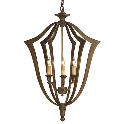Bell Shaped Chandelier Conway Bronze 3 Light Bell Shaped Pendant Lantern Kathy Kuo Home