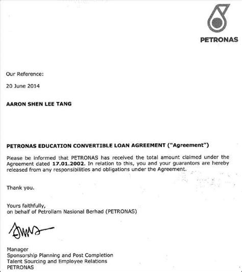 Loan Payoff Thank You Letter How I Paid My Rm58k Study Loan Imoney