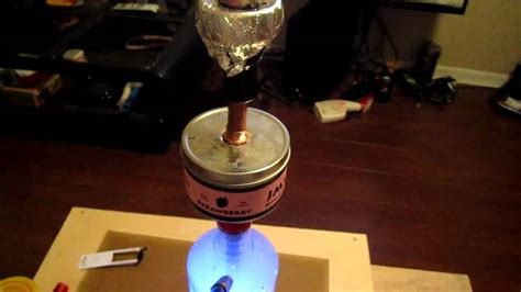 Shisha Botol Smirnoff chilled smirnoff hookah with chamber on a blue led base part 2