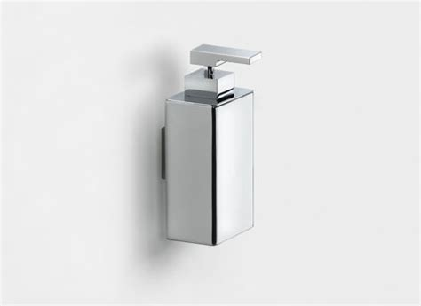 pom d or bathroom accessories pom d or wall mounted soap dispenser chrome 497801
