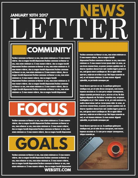 Professional Newsletter Sle Click To Customize Newsletter Sles Newsletter Design Professional Newsletter Templates