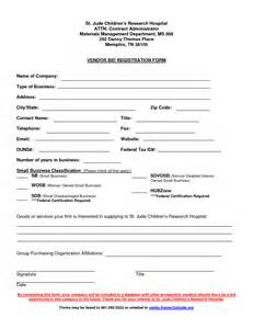 vendor form template vendor form template vendor application template 12