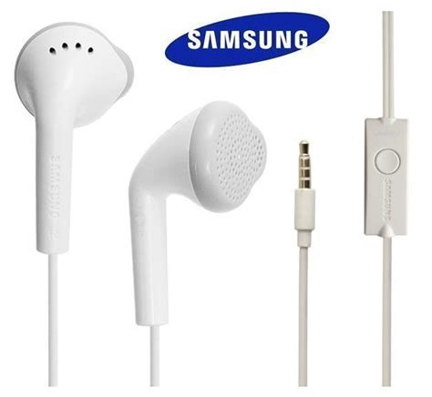 Earphone Samsung Galaxy S3 Genuine Samsung Galaxy Ehs61asfwe In Ear Earphones