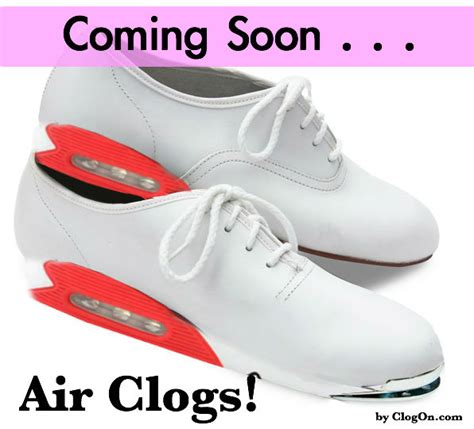 clogging shoes for announcement new air clogging shoes coming soon