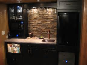 faux stone kitchen backsplash compact kitchen project creative faux panels