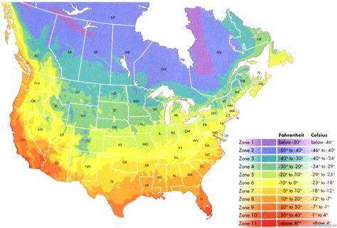 USDA Zone Chart   Carnivorous Plants for Sale!