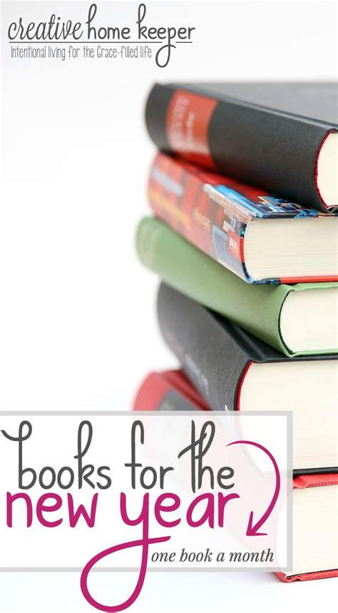 new year big book 12 books for the new year creative home keeper