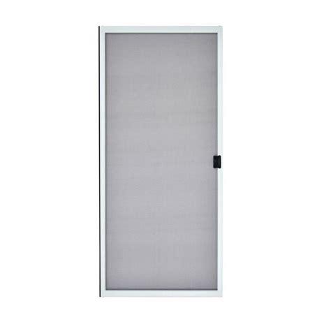 andersen 400 sliding door finishing odl 36 in x 78 in brisa white sliding retractable screen