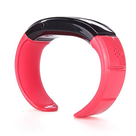 car home vibrating bracelet phone calls with clock