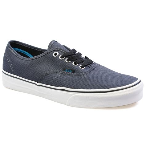 vans sneakers mens vans authentic black grey canvas mens womens trainers