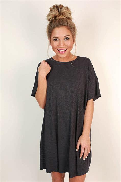 Tshirt Dress On 25 best ideas about black tshirt dress on