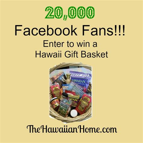 Win The Official Grammy Gift Basket by 20 000 Fans Contest The Hawaiian Home