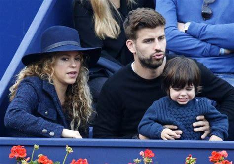 Cp Sakira shakira y piqu 233 acuden al tenis con su hijo milan
