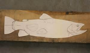 wood carving patterns fish images