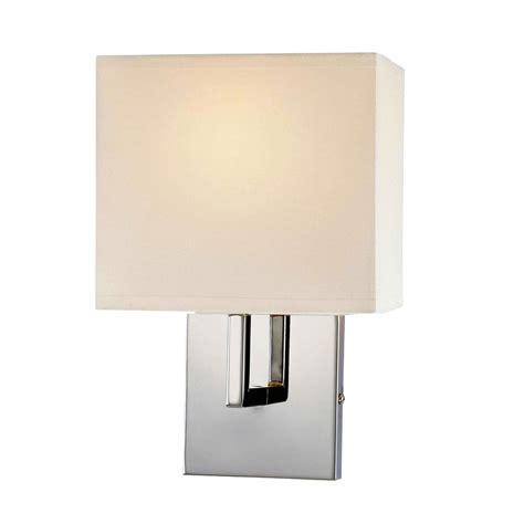 Kovacs Wall Sconce George Kovacs 1 Light Wall Sconce In Chrome L Brilliant Source Lighting