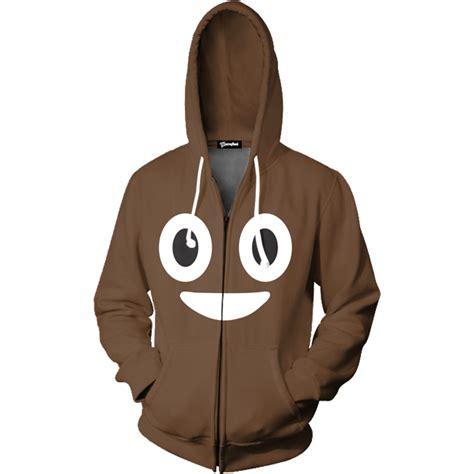 emoji zip up hoodie emoji poop zip up hoodie all over print apparel getonfleek