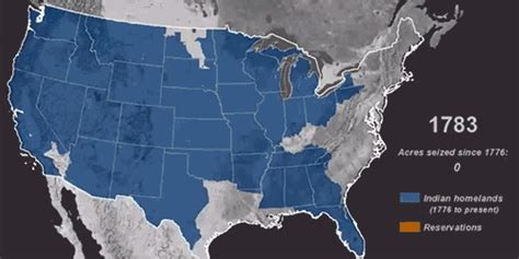 map of usa 1776 map time lapse of american seizure of indigenous land