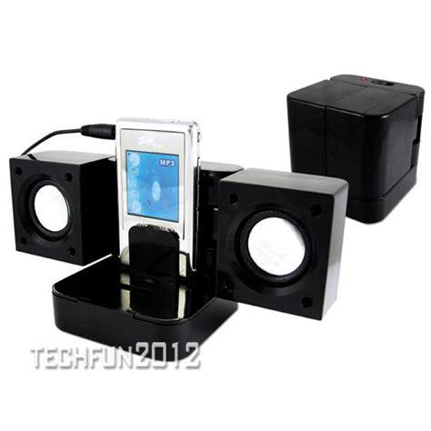 Speaker Dvd Mini folding travel portable mini speakers for mp3 mp4 dvd