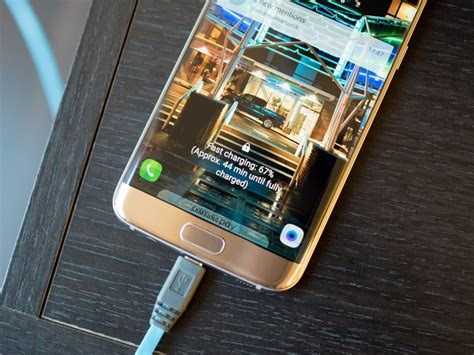 galaxy    edge  support quick charge