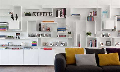 white shelves interior design ideas