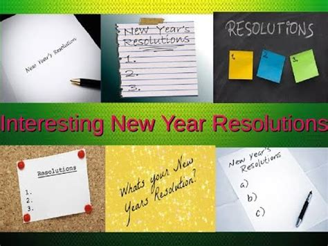 interesting new year resolutions happy new year 2017