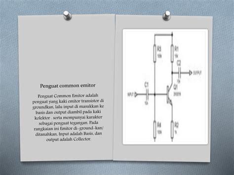 transistor dengan hfe tinggi kelompok 6 aplikasi transistor
