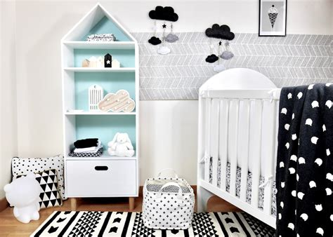 chambre enfant noir et blanc d 233 co chambre b 233 b 233 en noir et blanc deco clem atc