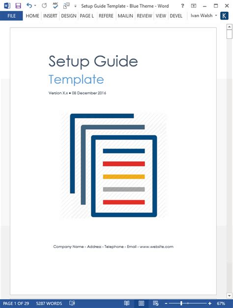 system design document template technical writing tips