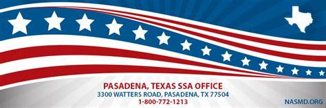 pasadena tx social security office ssa office in