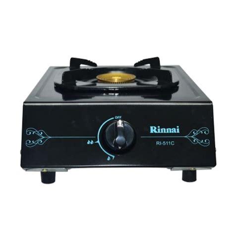 Kompor Gas Oven Rinnai jual rinnai ri 511 c kompor gas 1 tungku ceflon harga kualitas terjamin blibli