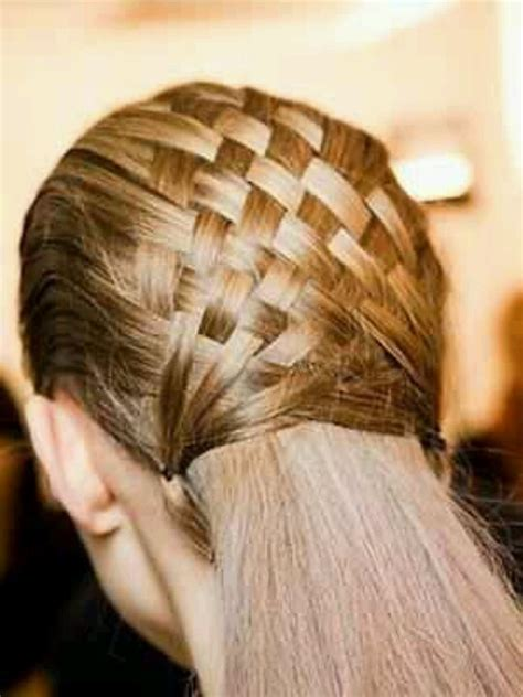 updos using basket weave technique like the basket weave look hairstyles pinterest