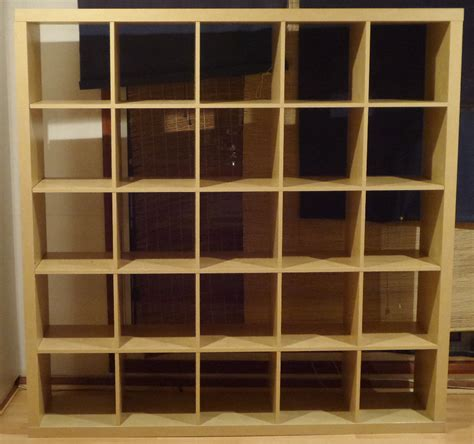 Ikea Kallax 5x5 by Ikea Expedit Kallax 5x5 6ft Storage Cube Unit Bookcase In