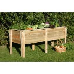 wooden garden planters