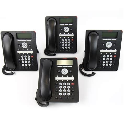 Office Desk Phones Avaya Ip Office 1608 I Ip Desk Phone 4 Pack 700510907