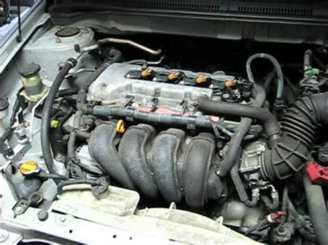 toyota corolla zz fe   engine idling revving  spark plugs replacement youtube