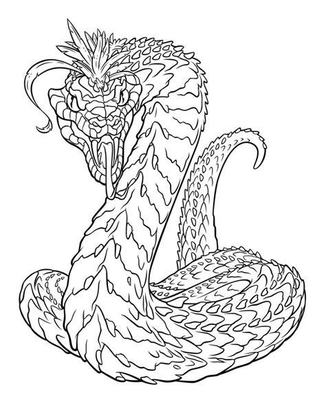 Harry Potter Basilisk Coloring Pages | 54 best images about basilisk on pinterest dragons