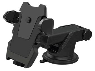 Lipin R Kantung Pillar Mobil Bh 933 car holder for smartphone with suction cup black jakartanotebook
