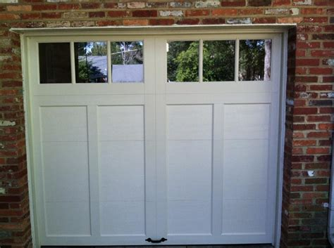 Affordable Doors simple clean one car garage affordable door