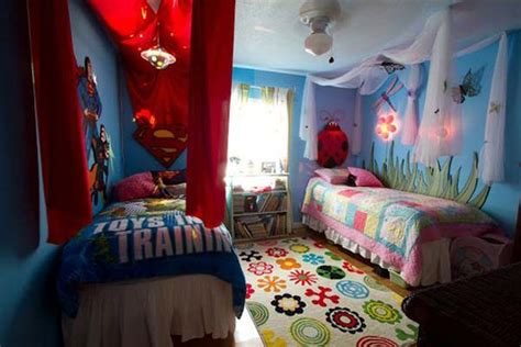 split bedroom design 20 brilliant ideas for boy girl shared bedroom